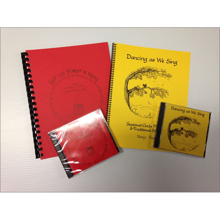 Let Us Form a Ring/Dancing as We Sing 2-book & 2-CD Set