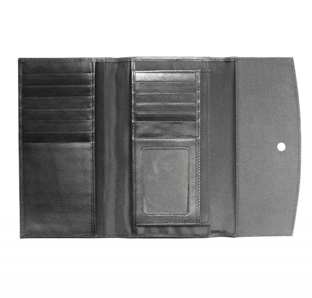 Their Whispers Never Stop | Leather Accented Wallet - Przekop Design Co.