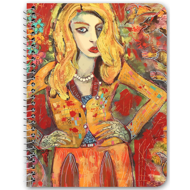 Bring It notebook by Penelope Przekop.