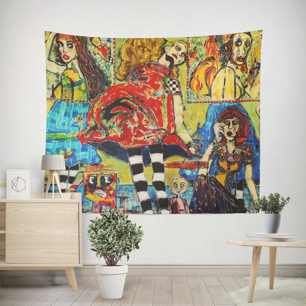 All the World's A Stage | Large Tapestry - Przekop Design Co.