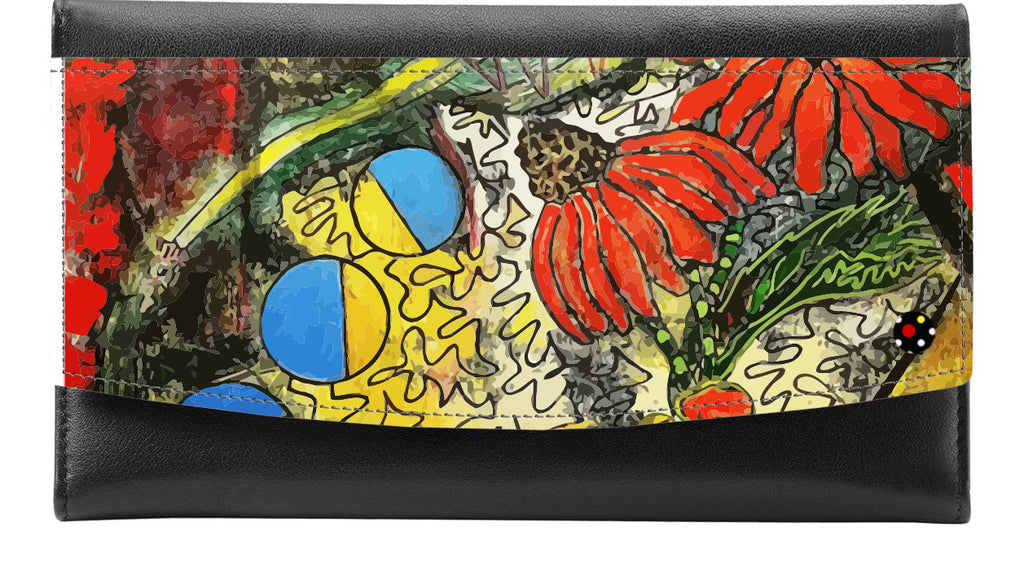 My Mother My Self | Leather Accented Wallet - Przekop Design Co.