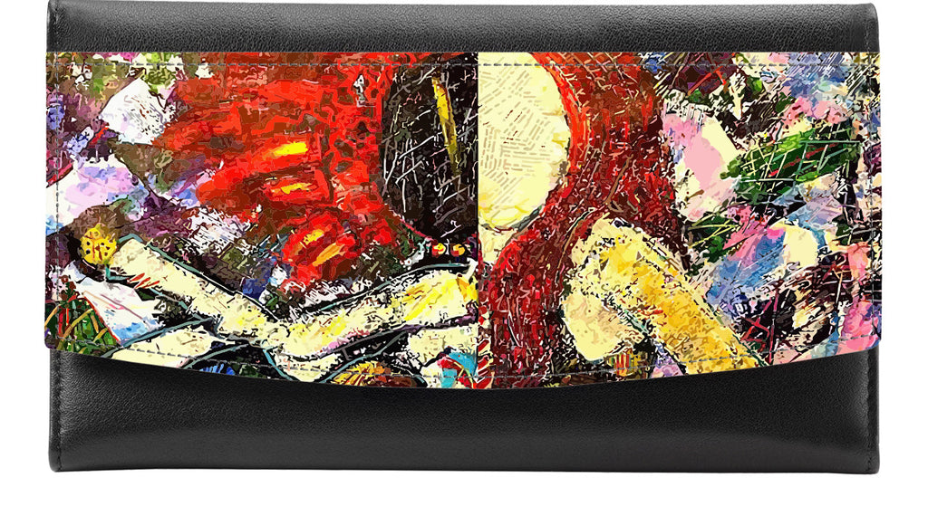 A Terrible Storm | Leather Accented Wallet - Przekop Design Co.