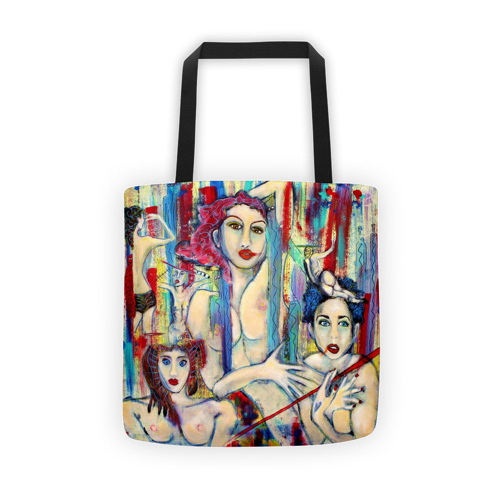 My Skin is Just a Suit I Wear | Tote bag - Przekop Design Co.