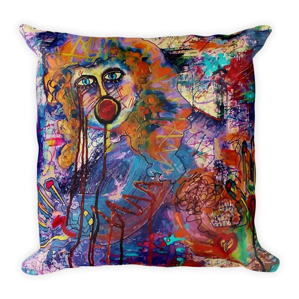 Monster Loose | Square Pillow - Przekop Design Co.