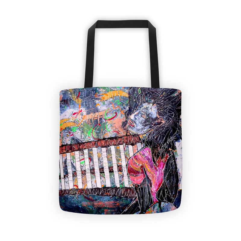 It's All Inside Tote Bag featuring original art by Penelope Przekop.