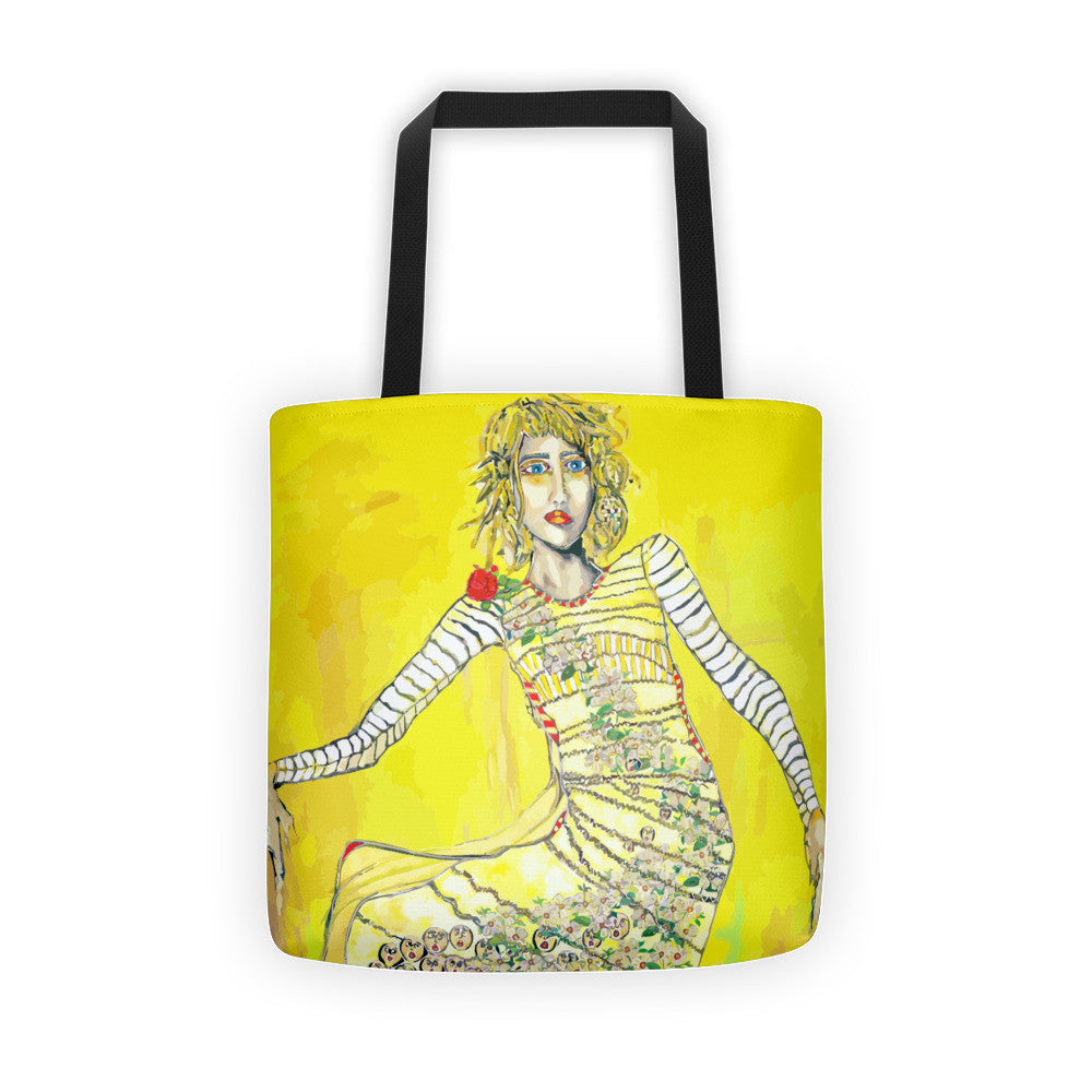 The Sun Will Come Out Tote Bag by Penelope Przekop