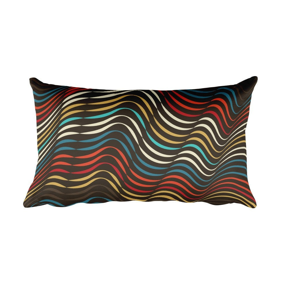 The World is But a Stage | Rectangular Pillow - Przekop Design Co.