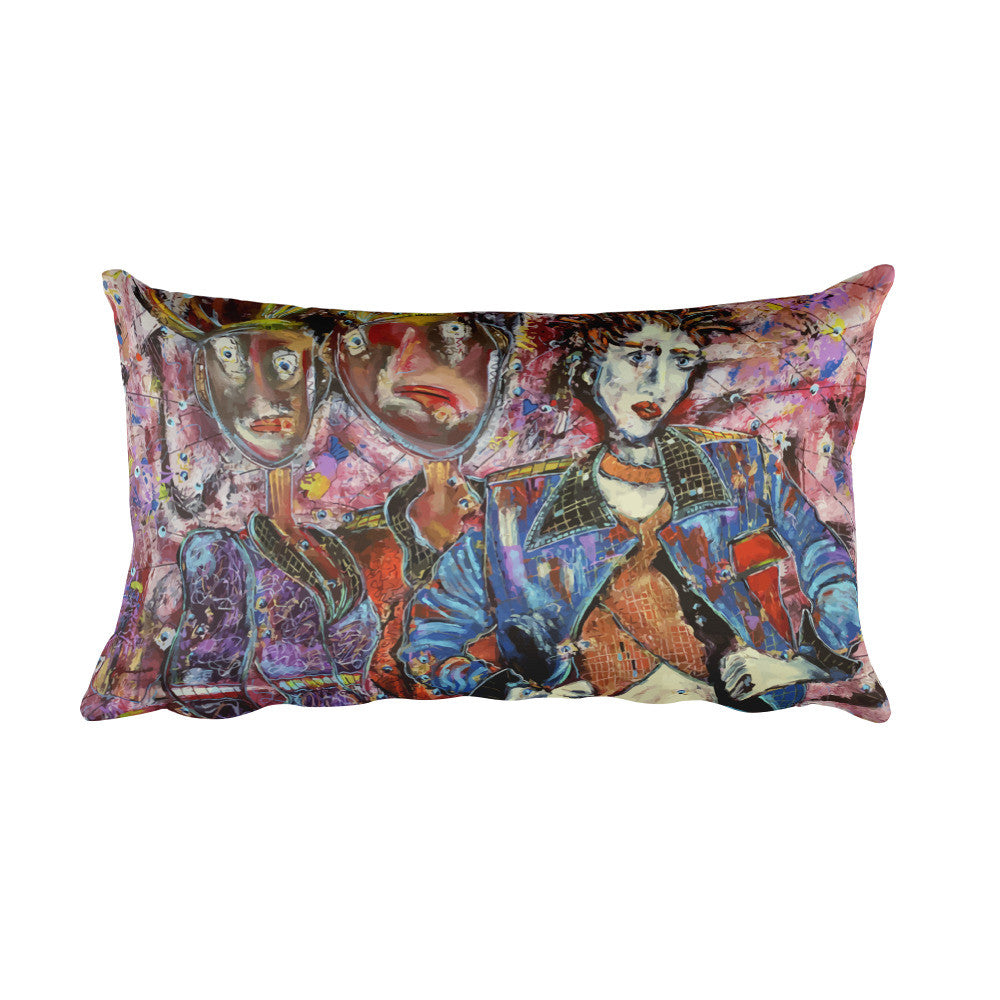 Their Whispers Never Stop (Full) | Rectangular Pillow for $36.00 at Przekop Design Company