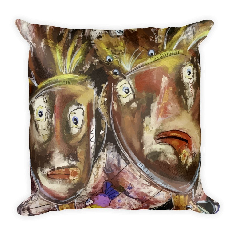 Their Whispers Never Stop | Pillow for $34.00 at Przekop Design Company