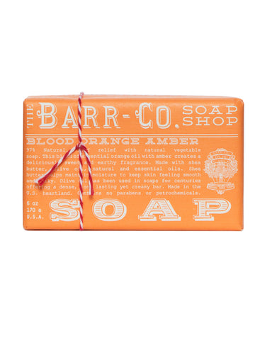 Blood Orange Amber Triple Milled Bar Soap