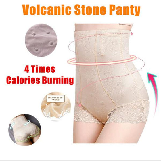 High Waist Shaping Underwear Volcanic Stone Panty