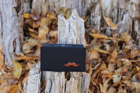 Brown Mustache Infinity Wallet