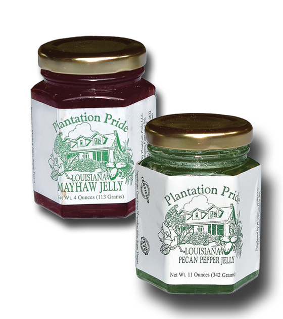 Mayhaw and Pecan Pepper Jelly