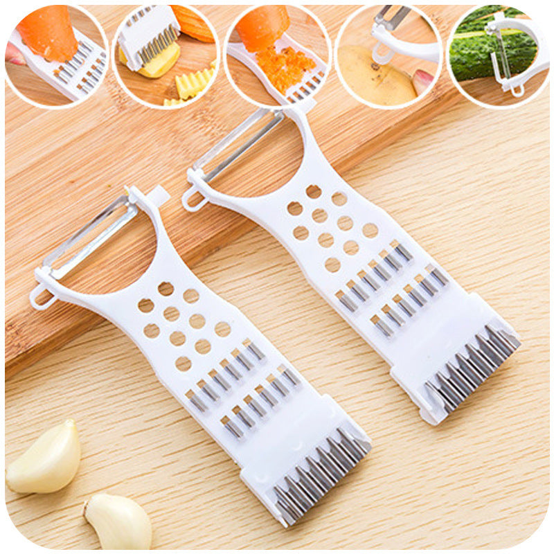 NEW Multi-function Vegetable Mandoline Slicer Cutter Chopper Carrot Cucumber Peeler Rolling kitchen Gadget Cozinha Biscoi