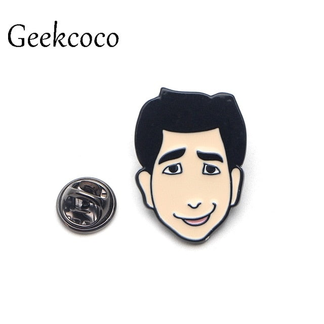 Friends tv show Zinc Alloy pins para backpack pride clothes medal for bag shirt hat insignia badges brooches for men women J0008