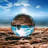 Crystal Ball Large Transparent Crystal Ball Lucky Rainbow Photo Crystal Ball
