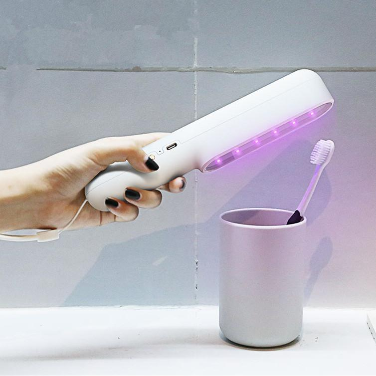 LumiParty Disinfection Lamp UV Sanitizing LED Sterilize Light Mini Handheld Germicidal Lamp