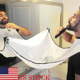 Bathroom Beard Care Trimmer Apron Hair Shave Bib Gown Robe Waterproof Bib Cloth