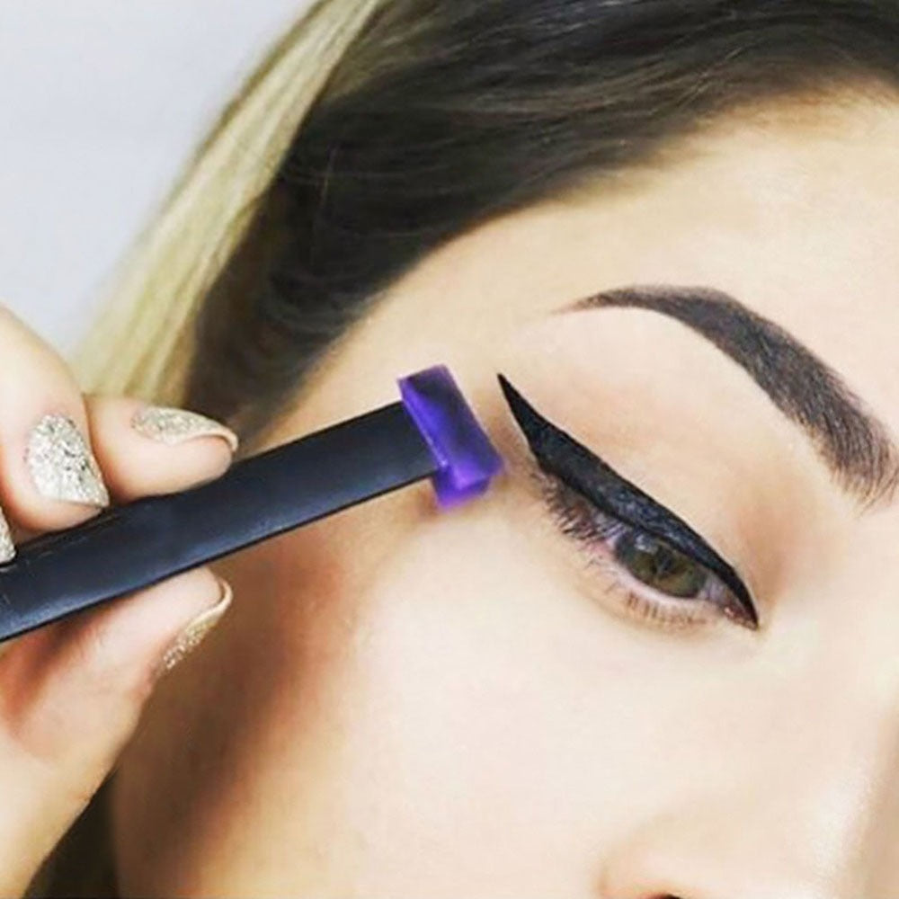 1Pc Eyeliner Mold Lazy Silicon Eye Shadow Stamp Crease Glittering Applicator Silicon Eyeshadow Seal Stamper Liner