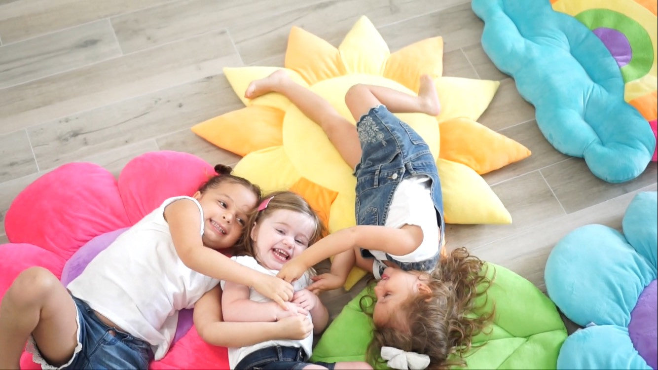 Large Kids Floor Pillows by Floor Bloom make a great gift!