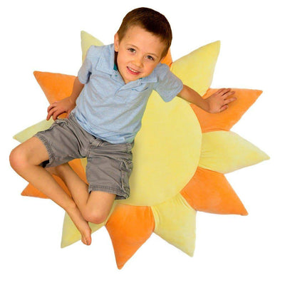 boy on sun pillow
