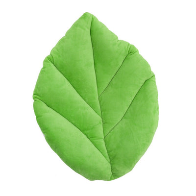 Leaf Pillow by Floor Bloom