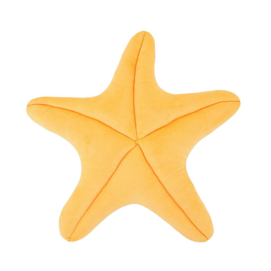 Perky Peach Starfish Floor Pillow