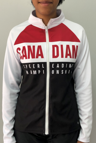 Exclusive Canadian Cheer Nationals Track Jacket