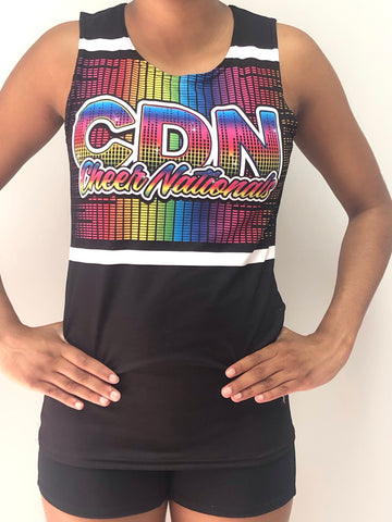 Exclusive Black Canadian Cheer Nationals Cotton Tank!