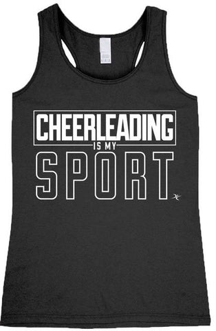Cheerleading Is My Sport Tank