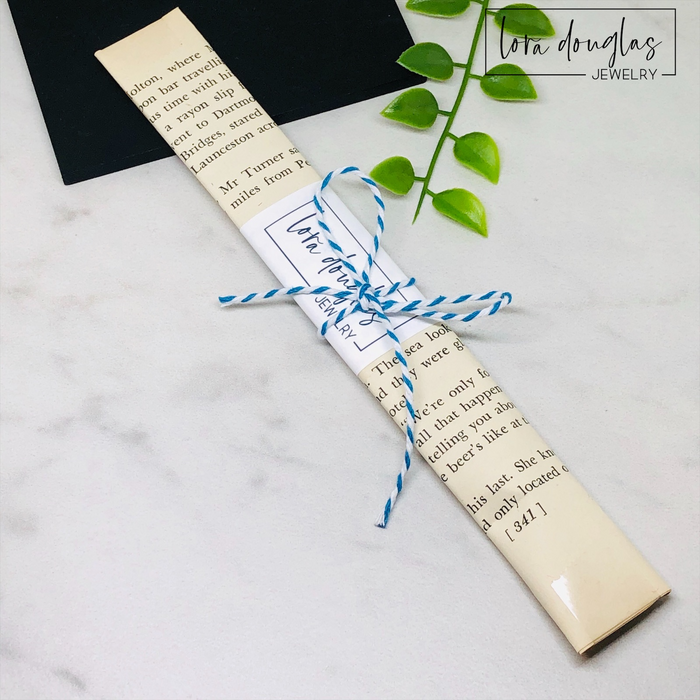 Book Club Bookmarks, Personalized Metal Bookmarks