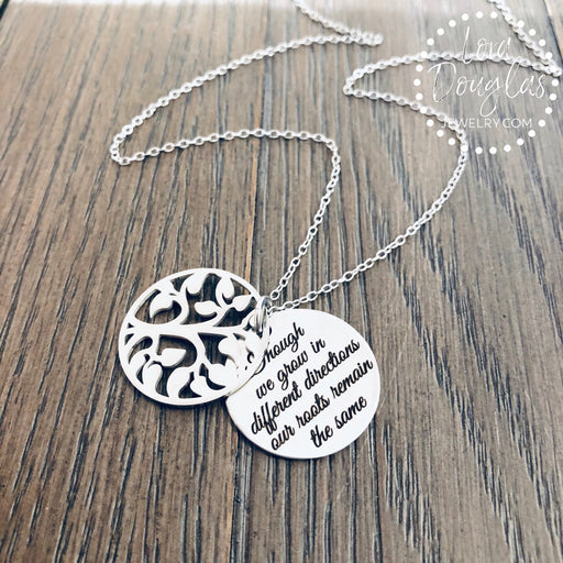 Tree of Life Necklace, Mother Daughter Jewelry - Lora Douglas Jewelry