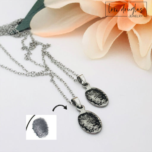 Fingerprint Jewelry, Engrave Your Fingerprint