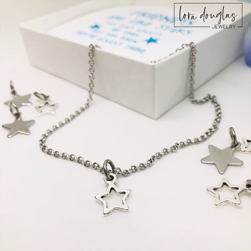 Friends are Like Stars, Stars Ankle Bracelet