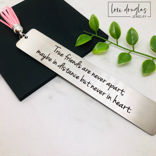 True Friends Are Never Apart, Tassel Bookmark