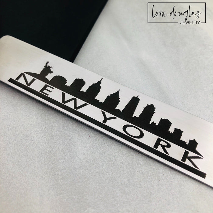 New York City Skyline Tassel Bookmark