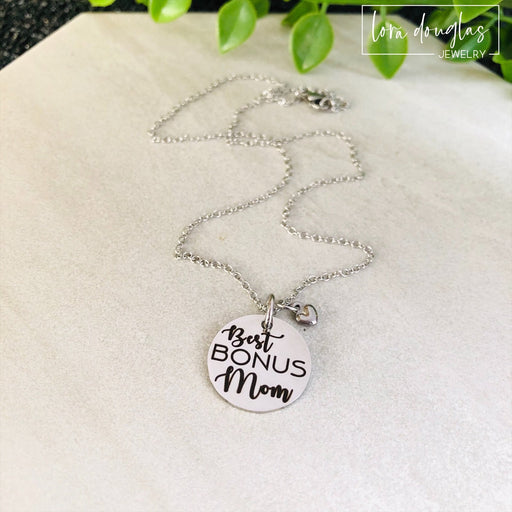 Best Bonus Mom, Bonus Mom Necklace