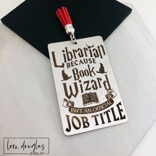 Librarian Bookmark, Harry Potter Bookmark