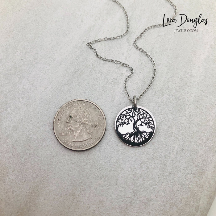 Tree of Life | Engraved Charm, Necklace, or Bracelet