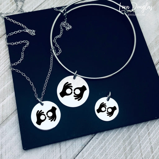 ASL Interpreter Icon Jewelry