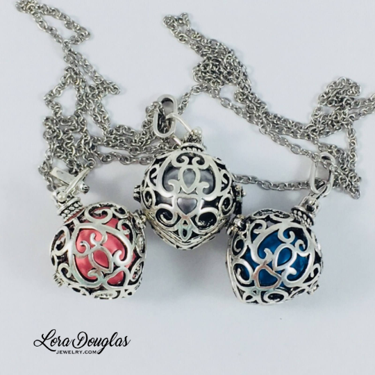 Harmony Ball Necklace, Angel Caller Necklace, Maternity Jewelry