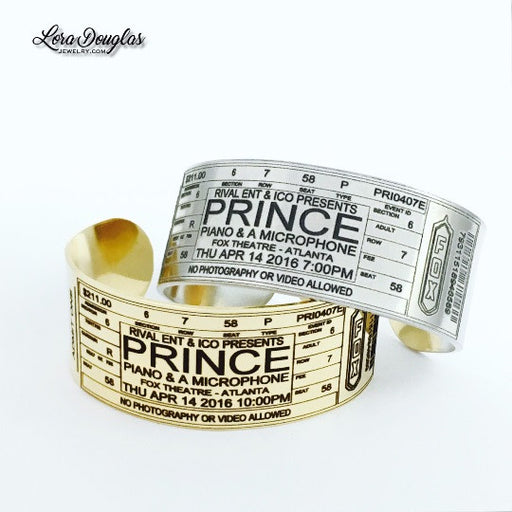 Special Edition: PERSONALIZED Prince at Fox Theatre Atlanta - Lora Douglas Jewelry