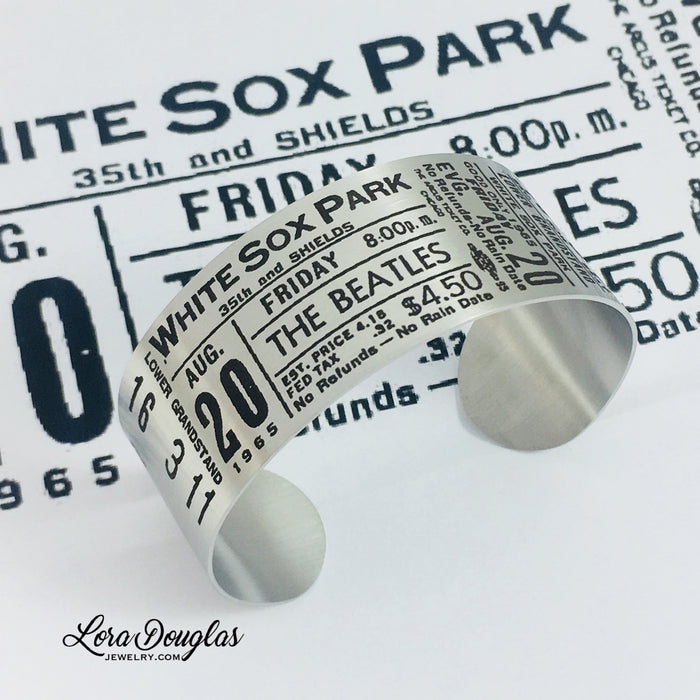 Special Edition: The Beatles at White Sox Park - Lora Douglas Jewelry
