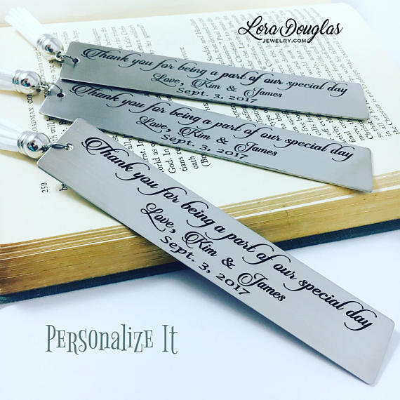 Part of our Special Day, Wedding Reader Bookmark