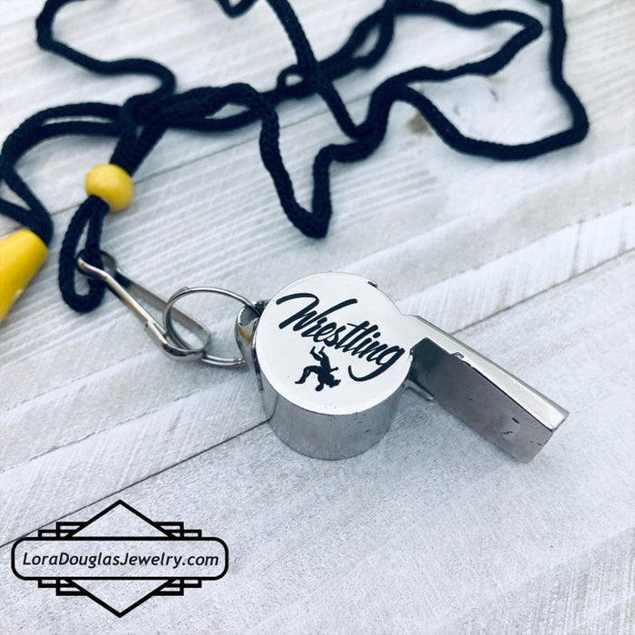 Personalized Coaches Whistle, Coach Gift