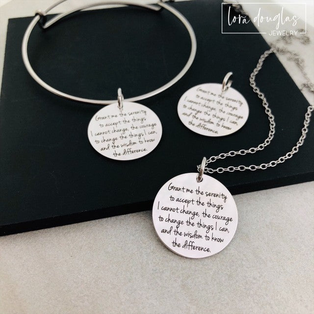 Serenity Prayer Jewelry