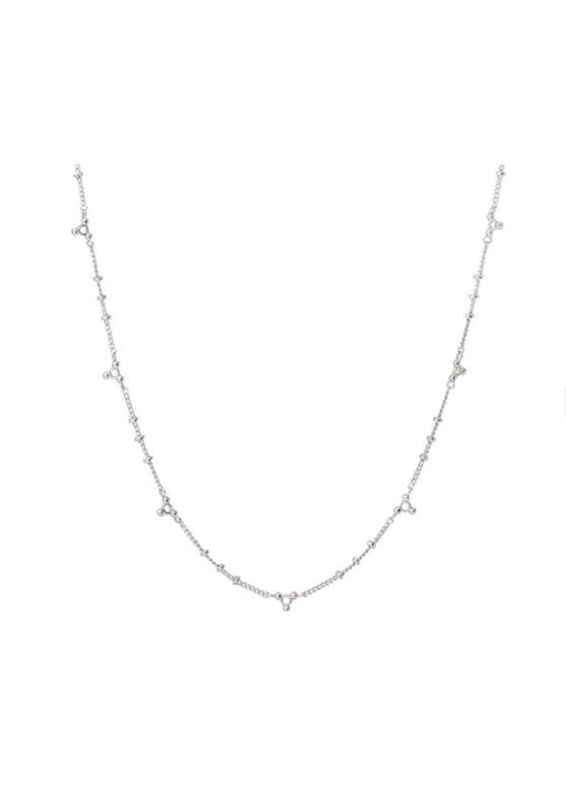 Marrakech Chain Necklace Silver