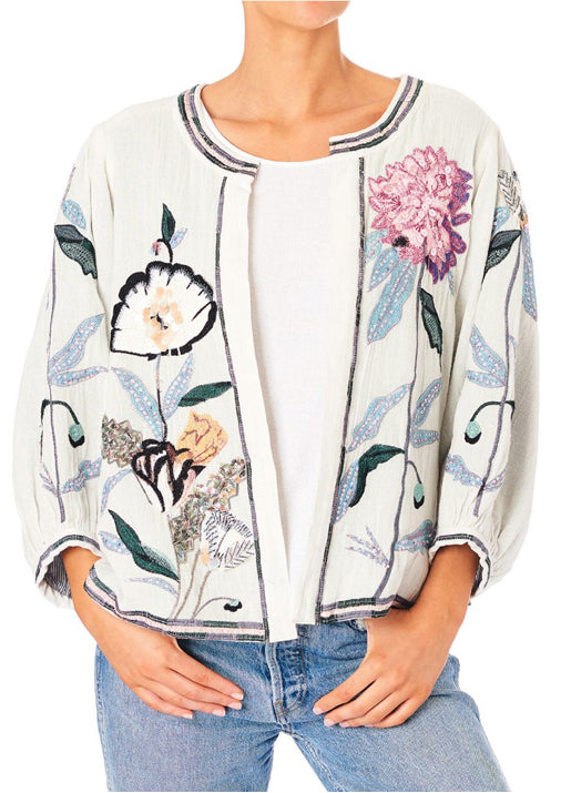 Tris Embroidered Jacket
