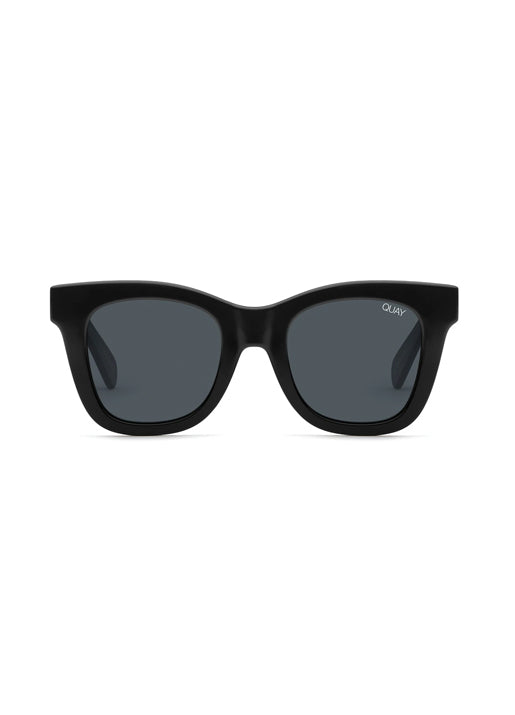 x Chrissy Teigen After Hours Polarized Square Sunglasses - Black/Smoke