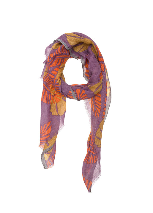 Amazonico Purple Scarf